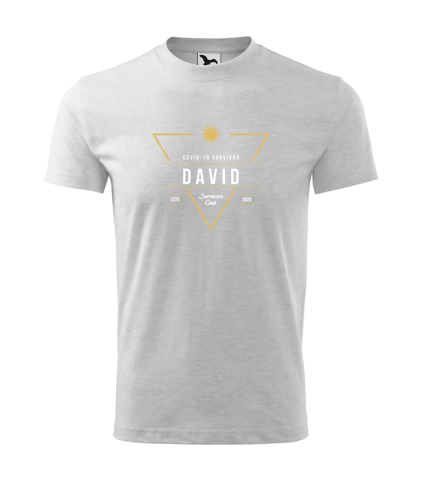 Tričko Survivor Club David