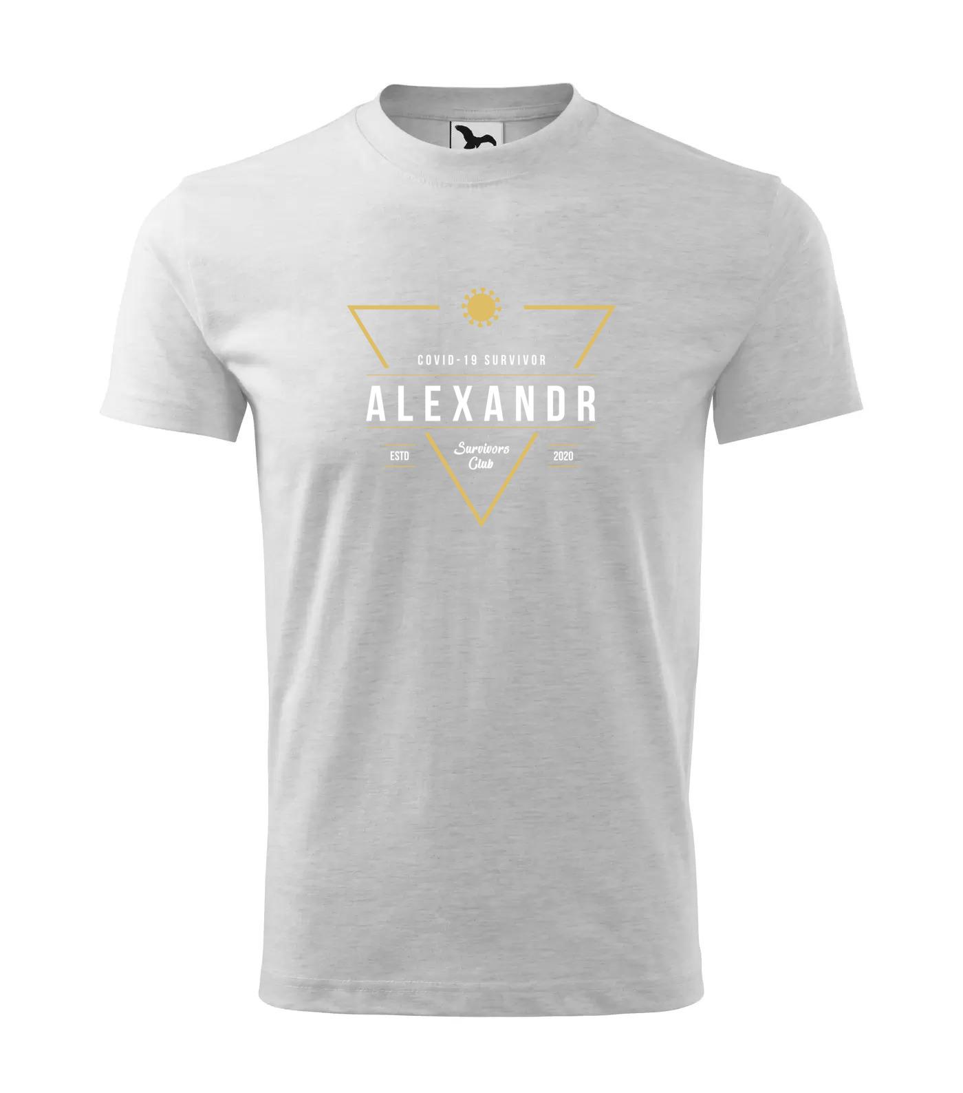 Tričko Survivor Club Alexandr