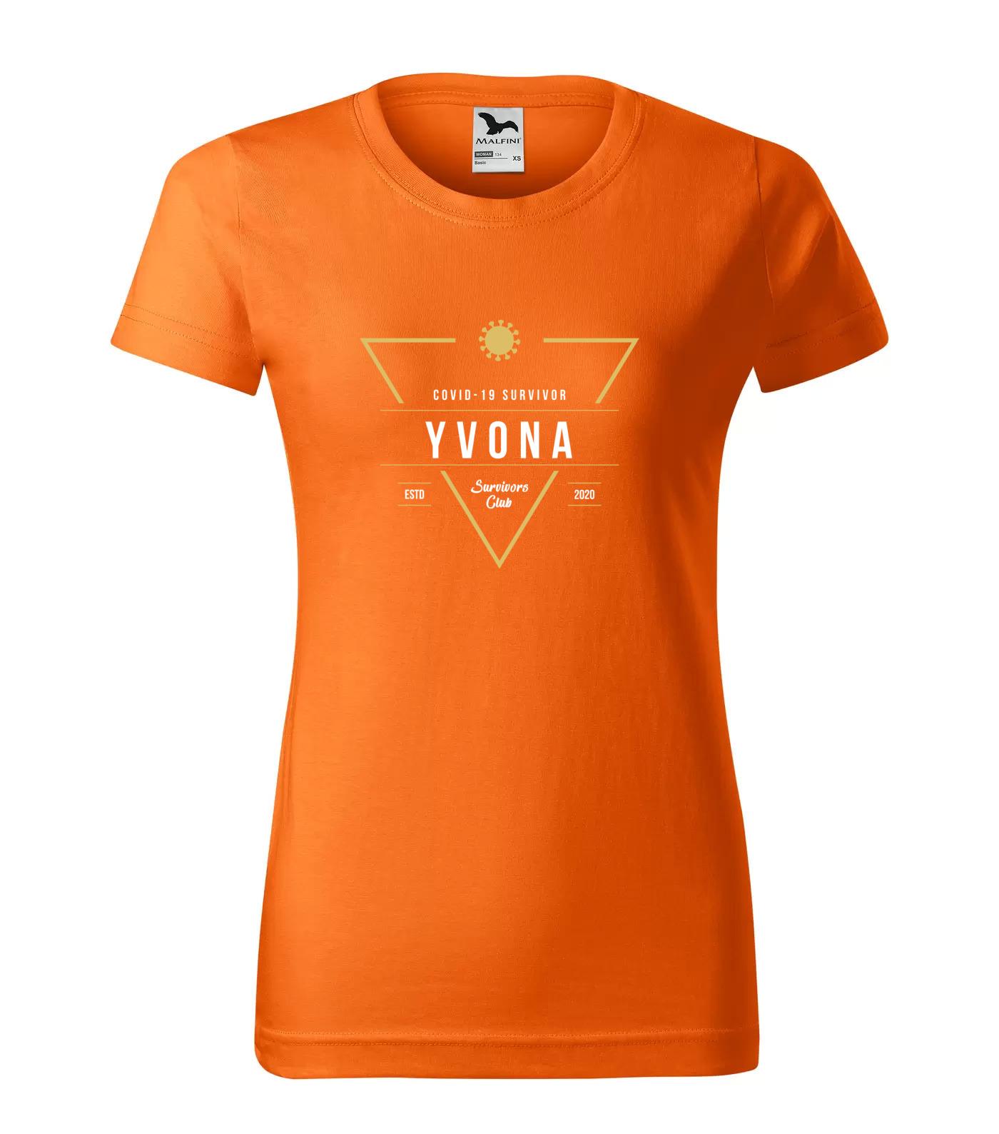 Tričko Survivor Club Yvona