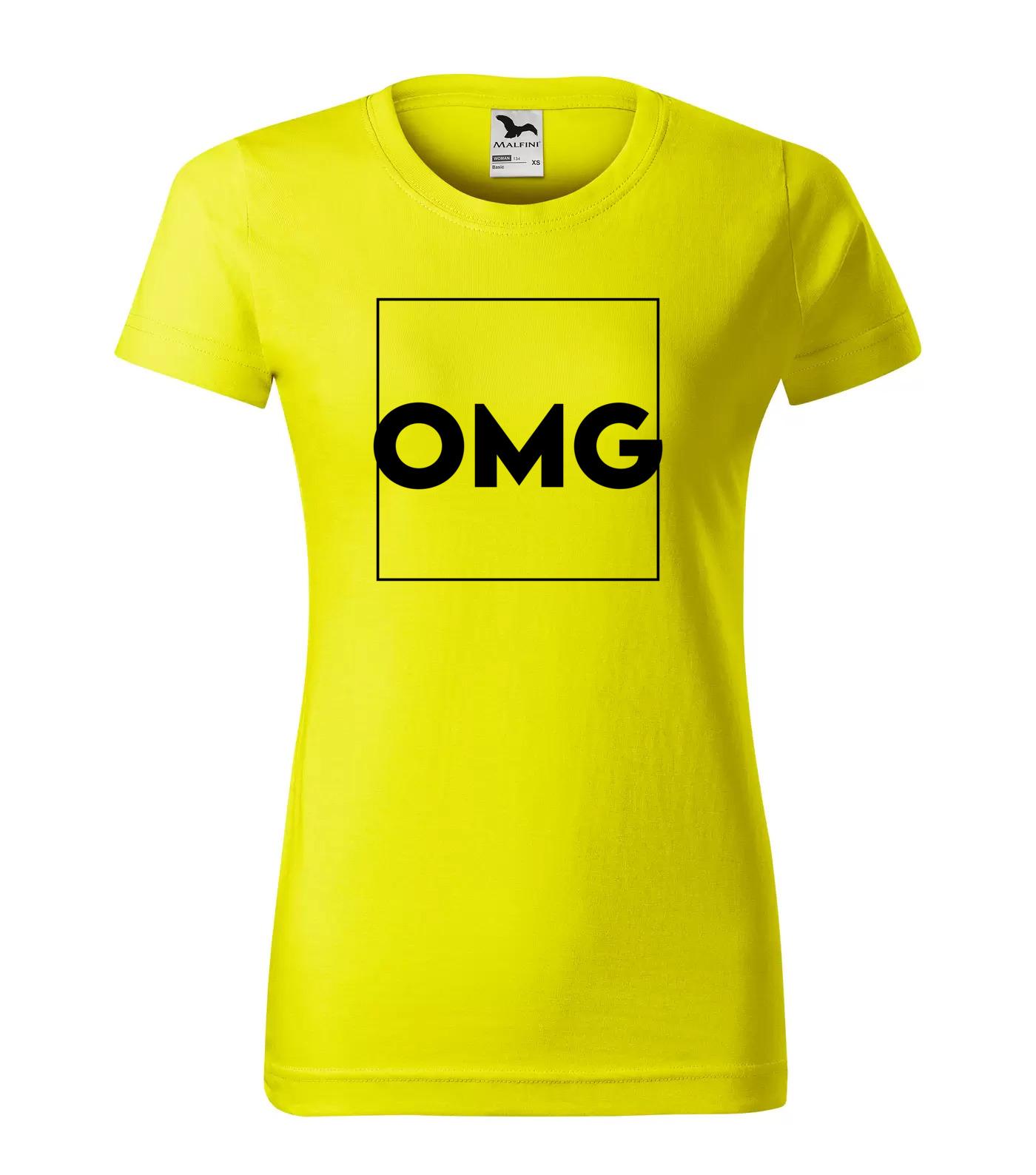 Tričko Trendy OMG Oh My God