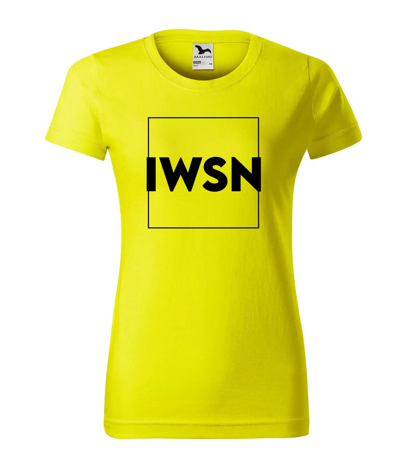 Tričko Trendy IWSN - I Want Sex Now