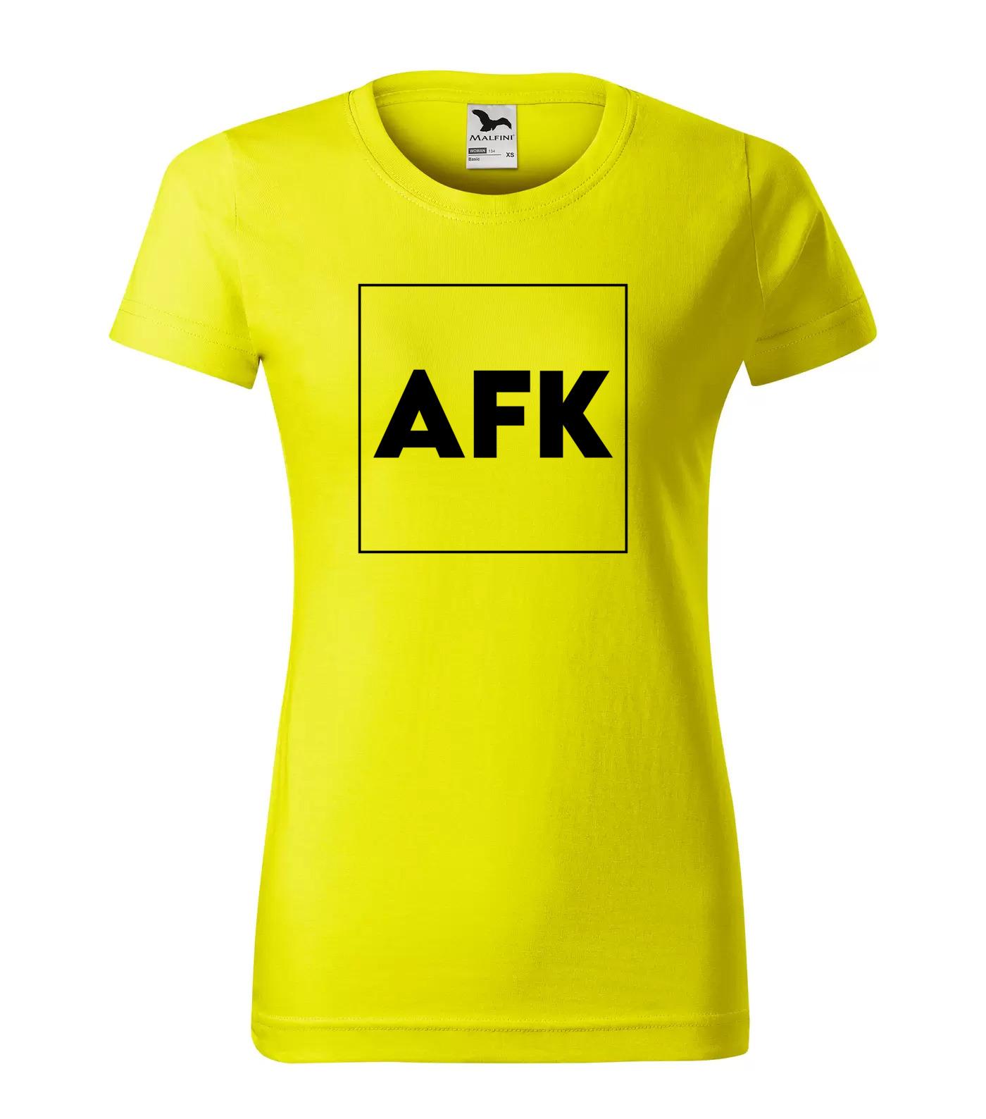 Tričko Trendy AFK - Away From Keyboard