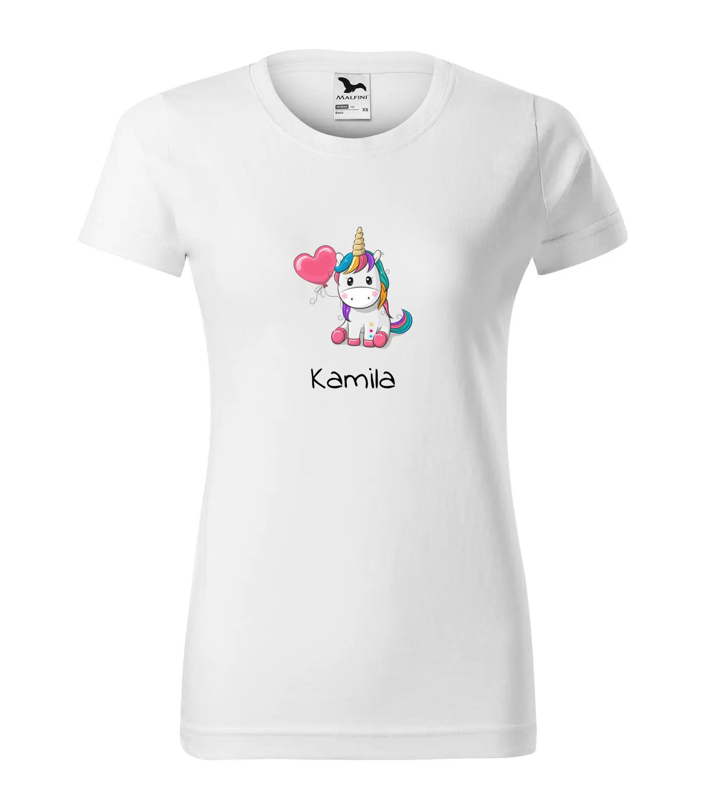 Tričko Jednorožec Kamila