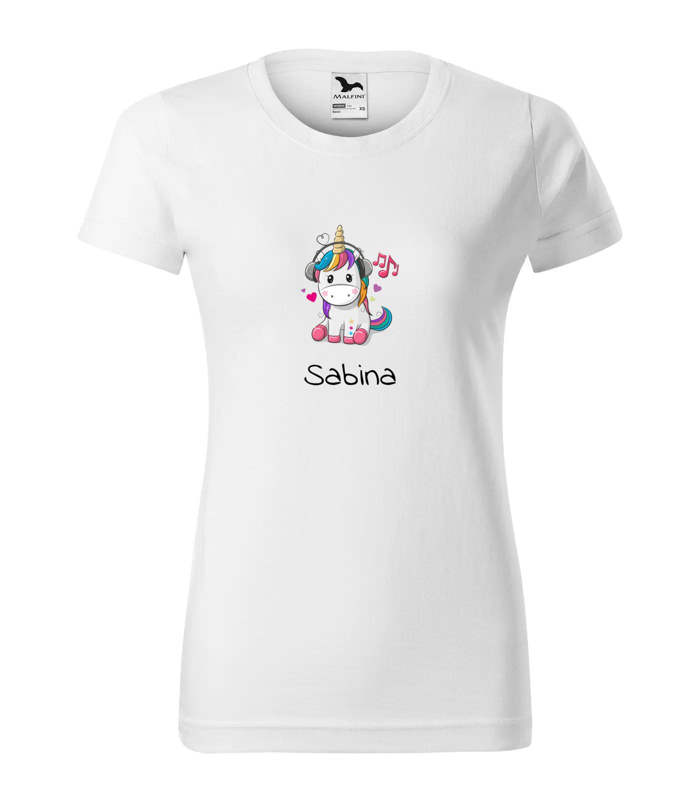 Tričko Jednorožec Sabina