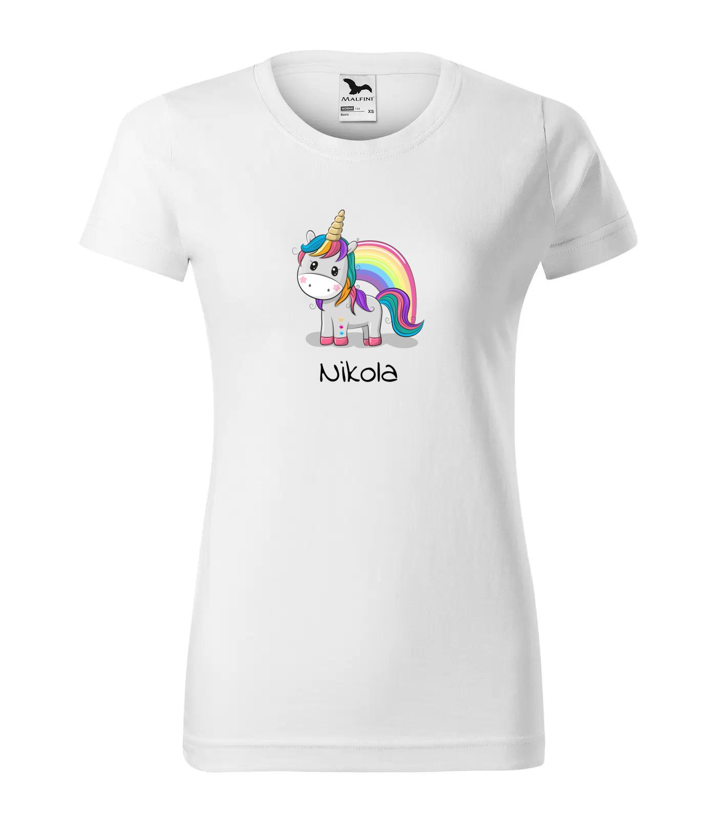 Tričko Jednorožec Nikola