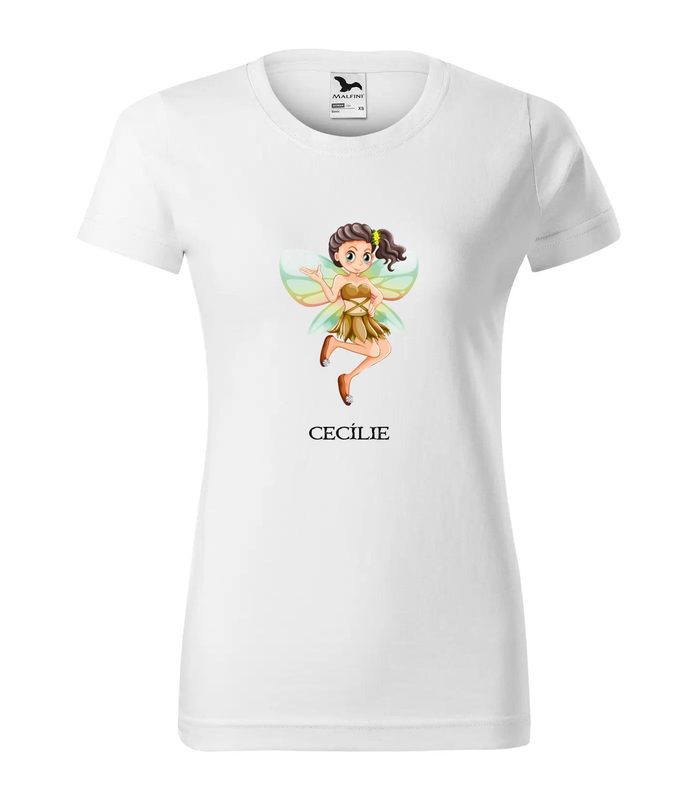 Tričko Víla Cecílie