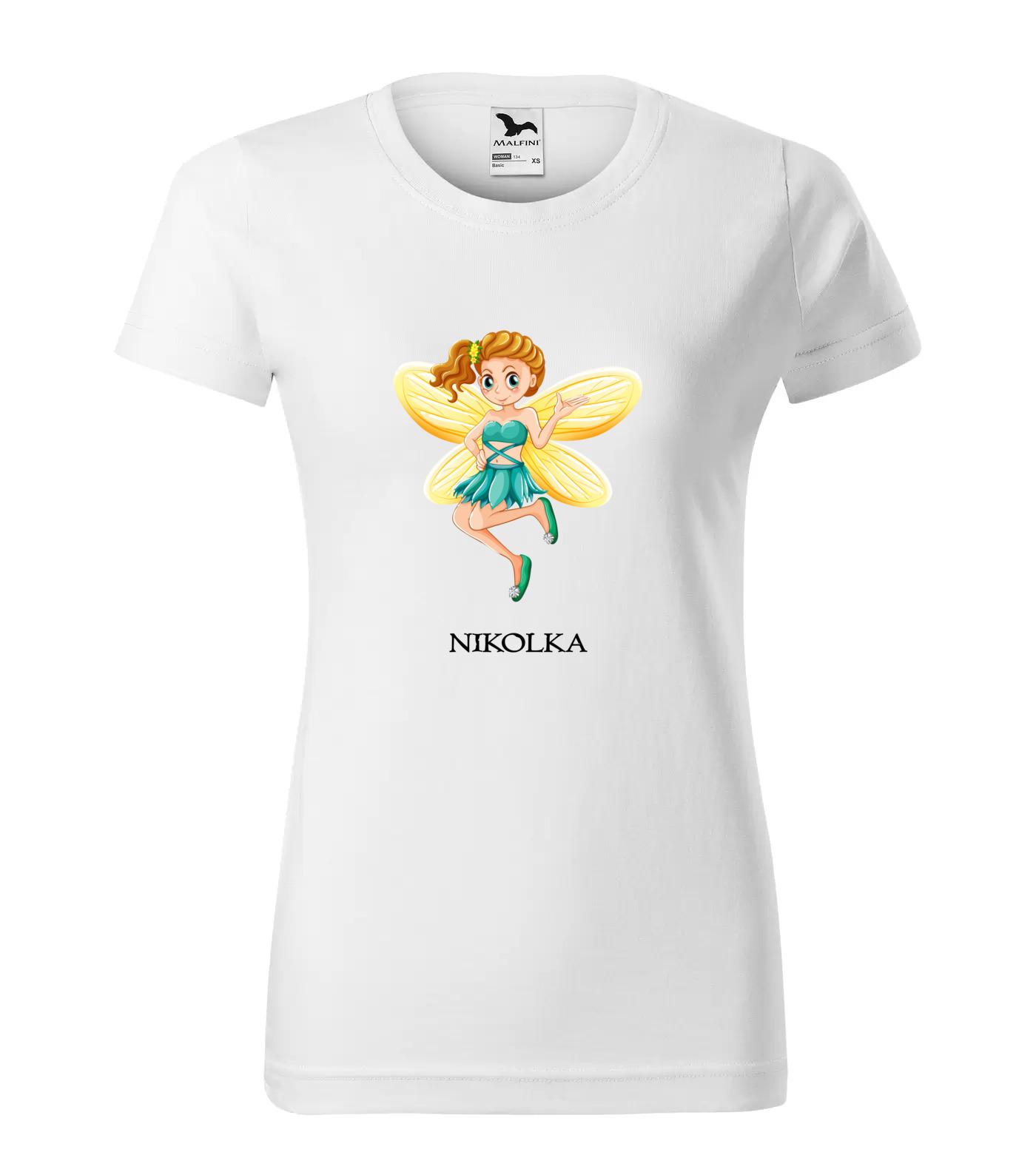 Tričko Víla Nikolka