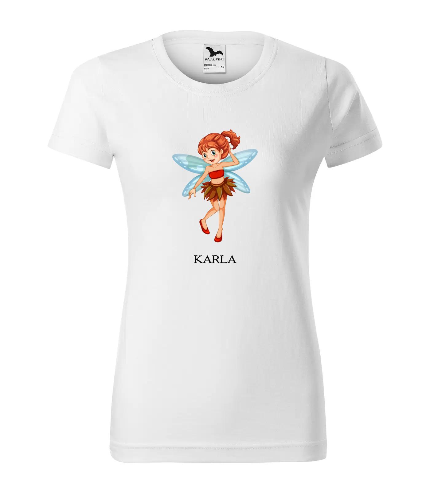 Tričko Víla Karla