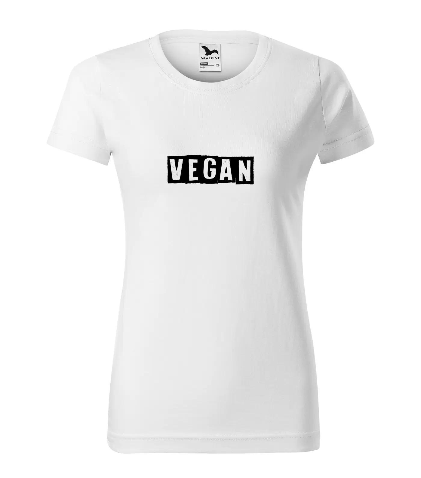 Tričko Vegan 5