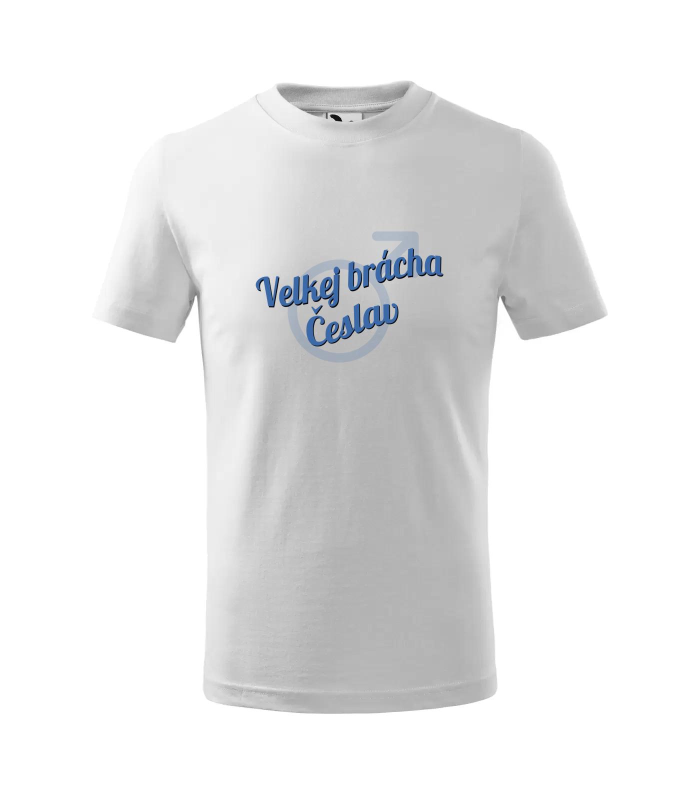 Tričko Velkej brácha velkejbracha