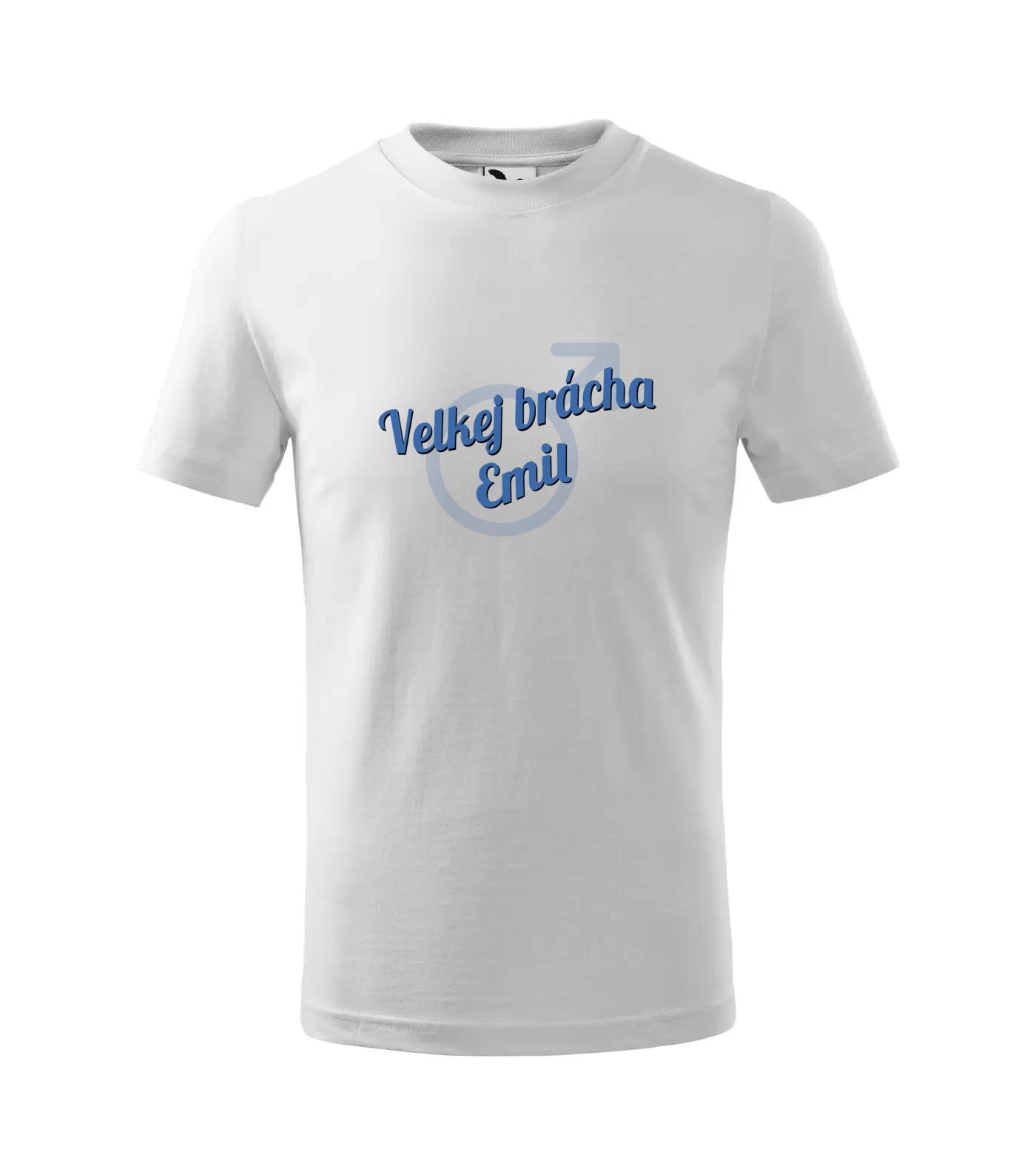 Tričko Velkej brácha Emil