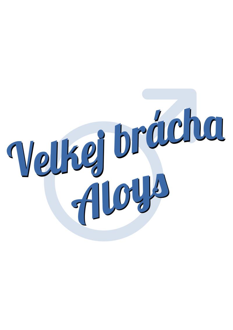 Tričko Velkej brácha Aloys