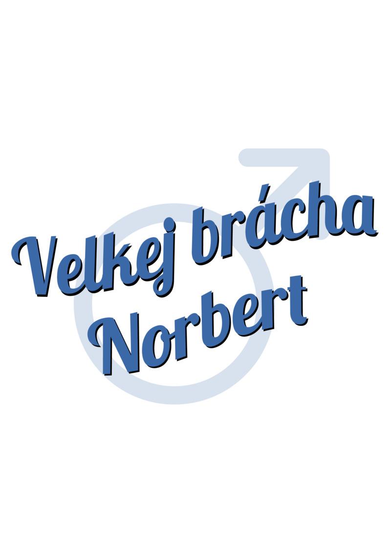 Tričko Velkej brácha Norbert
