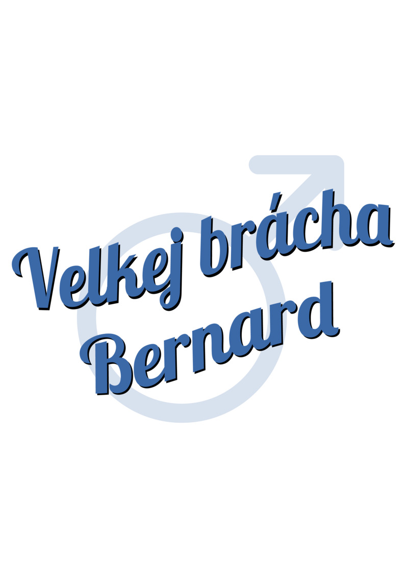 Tričko Velkej brácha Bernard