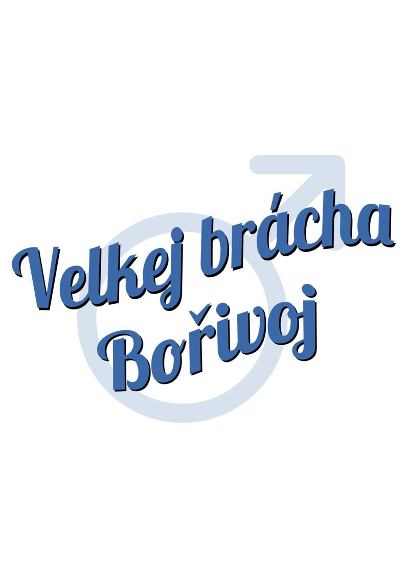 Tričko Velkej brácha Bořivoj