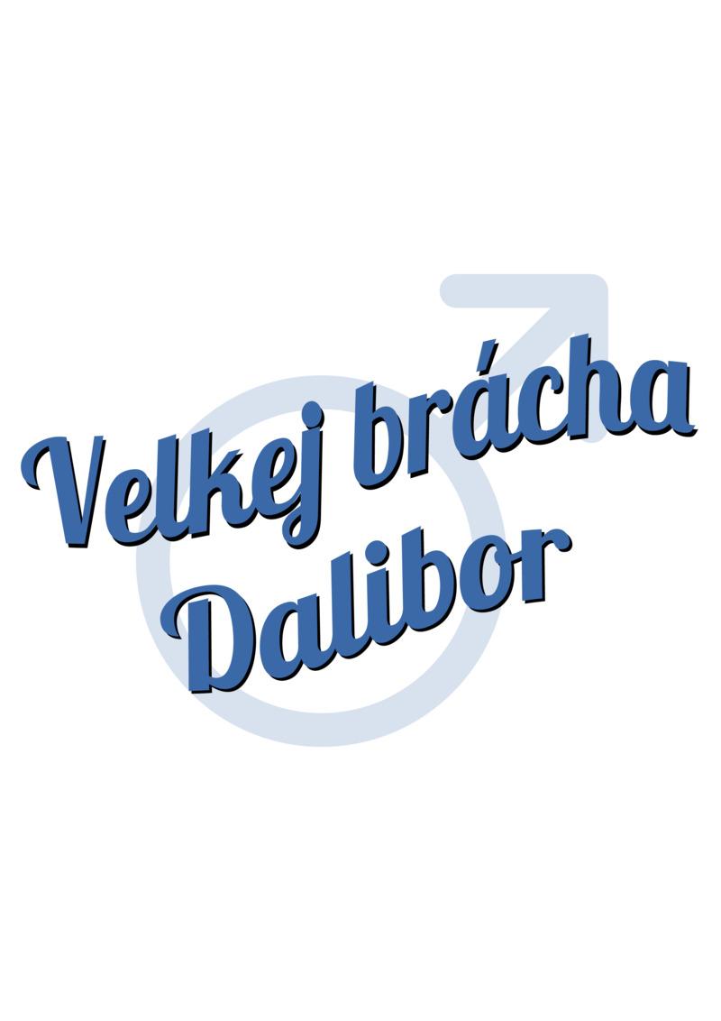 Tričko Velkej brácha Dalibor