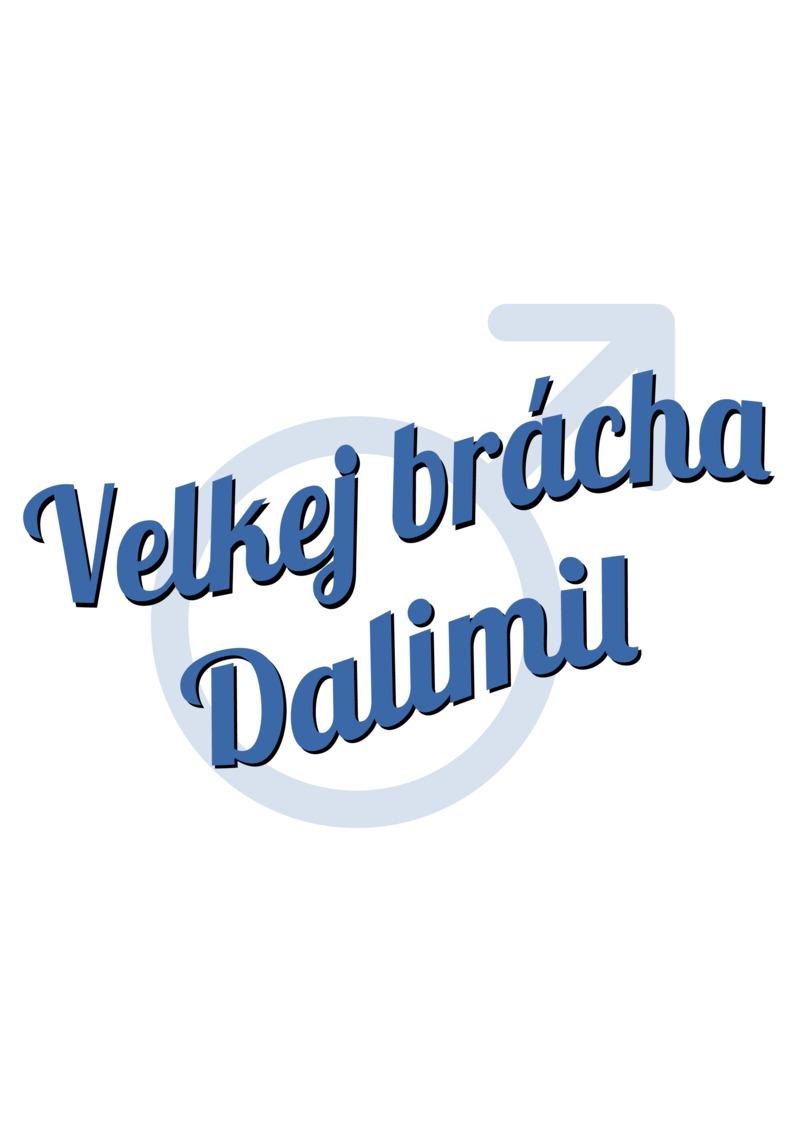 Tričko Velkej brácha Dalimil