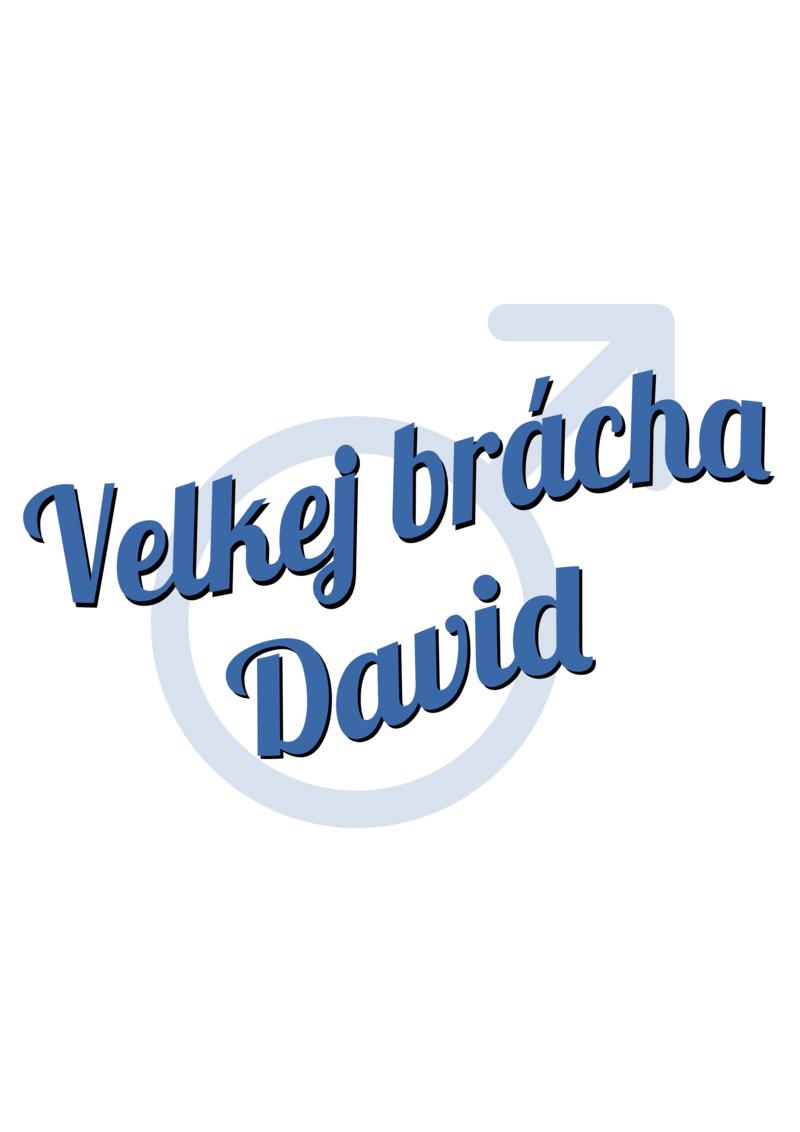 Tričko Velkej brácha David