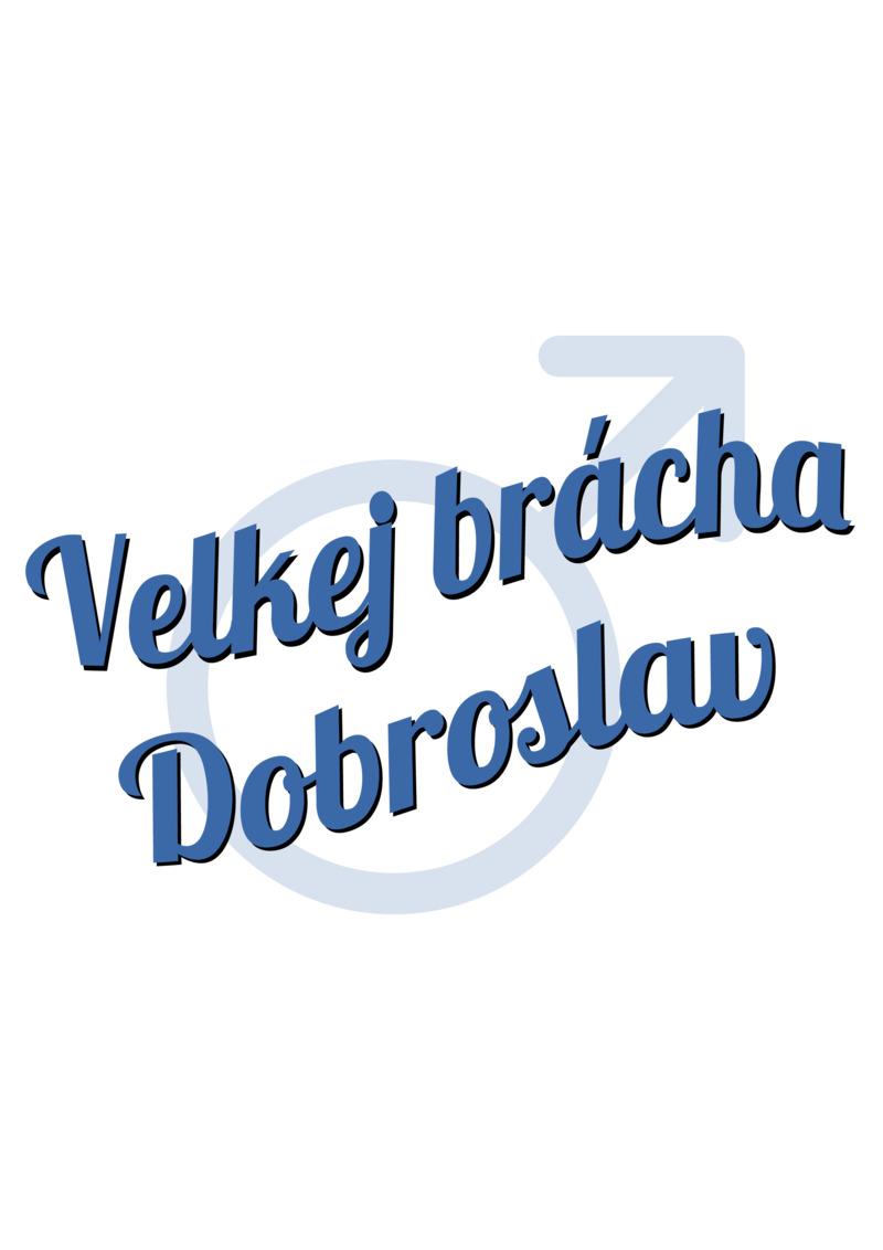 Tričko Velkej brácha Dobroslav