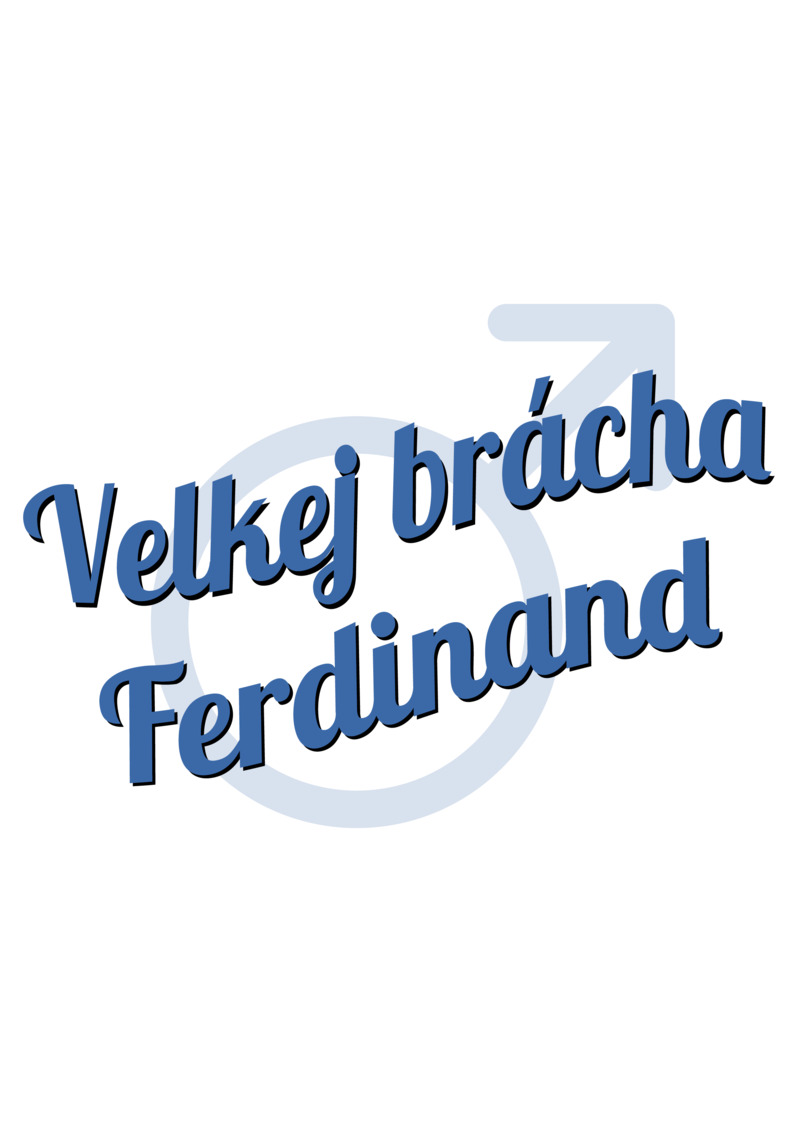 Tričko Velkej brácha Ferdinand