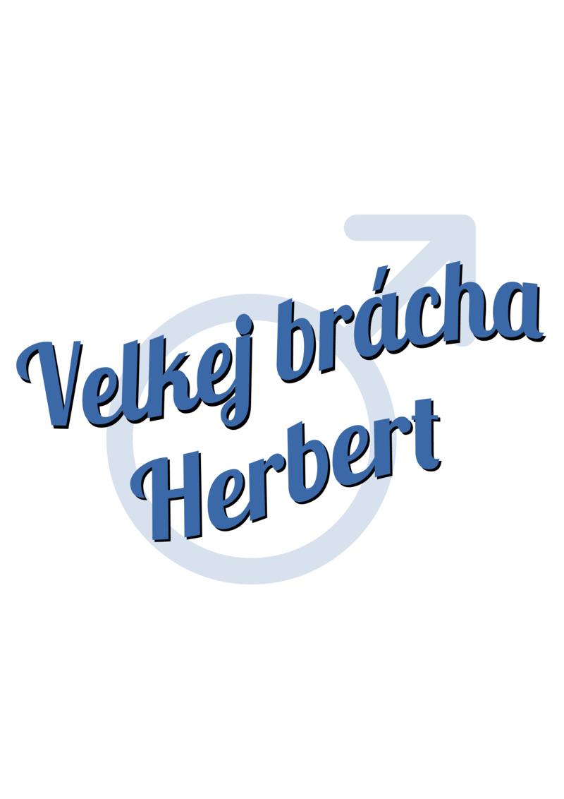 Tričko Velkej brácha Herbert
