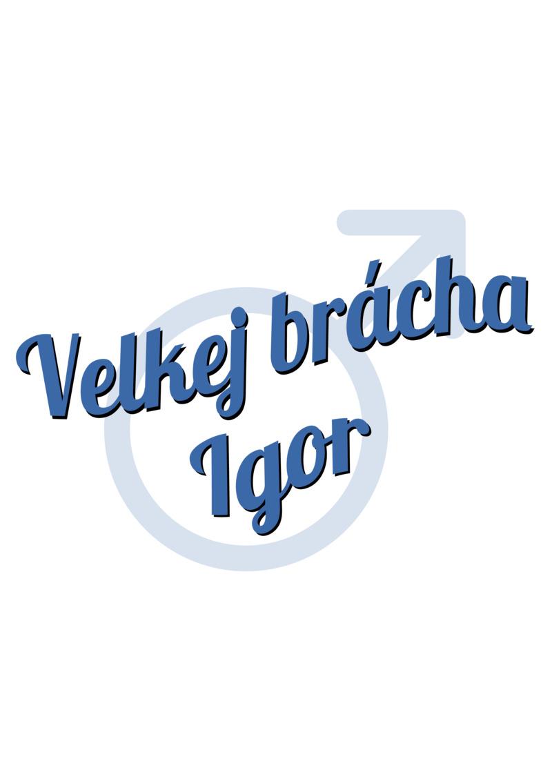 Tričko Velkej brácha Igor
