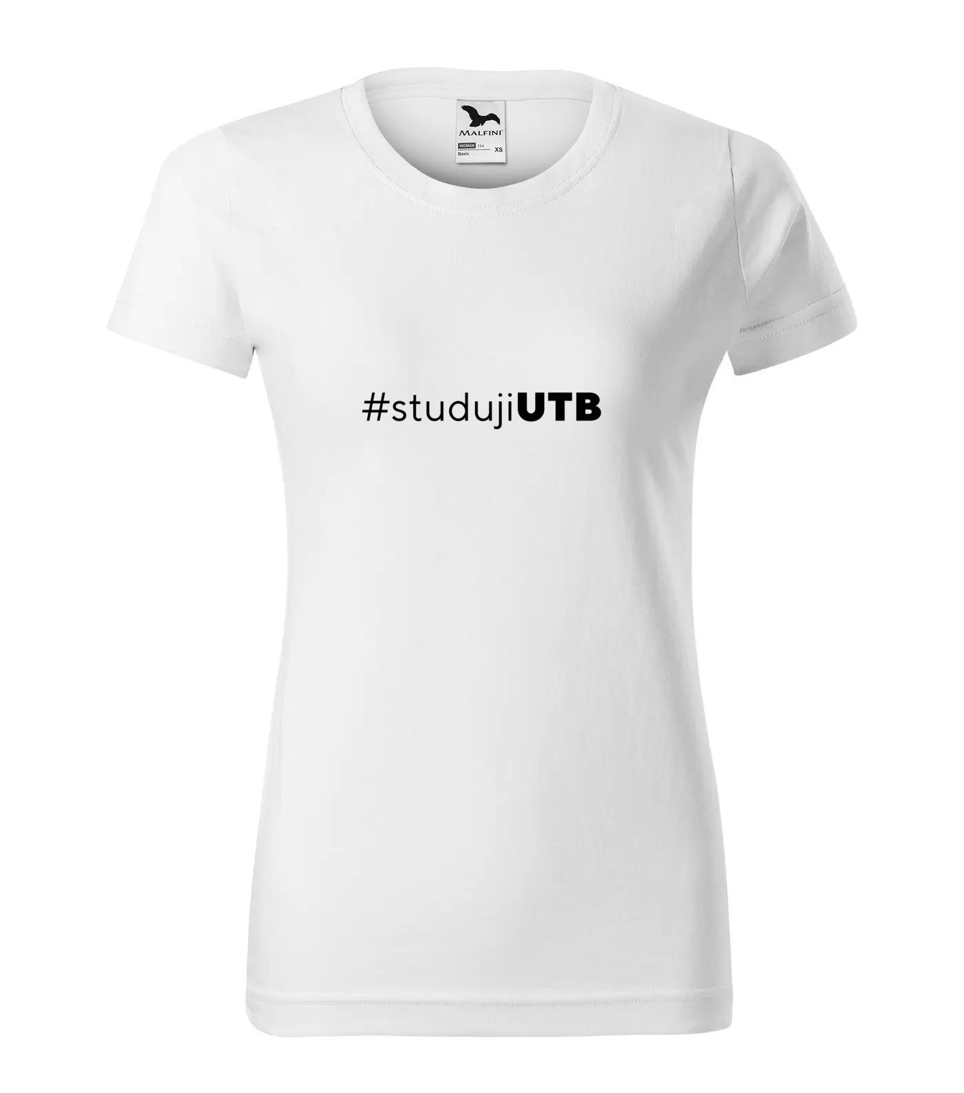 Tričko pro vysokoškoláky Studuji UTB