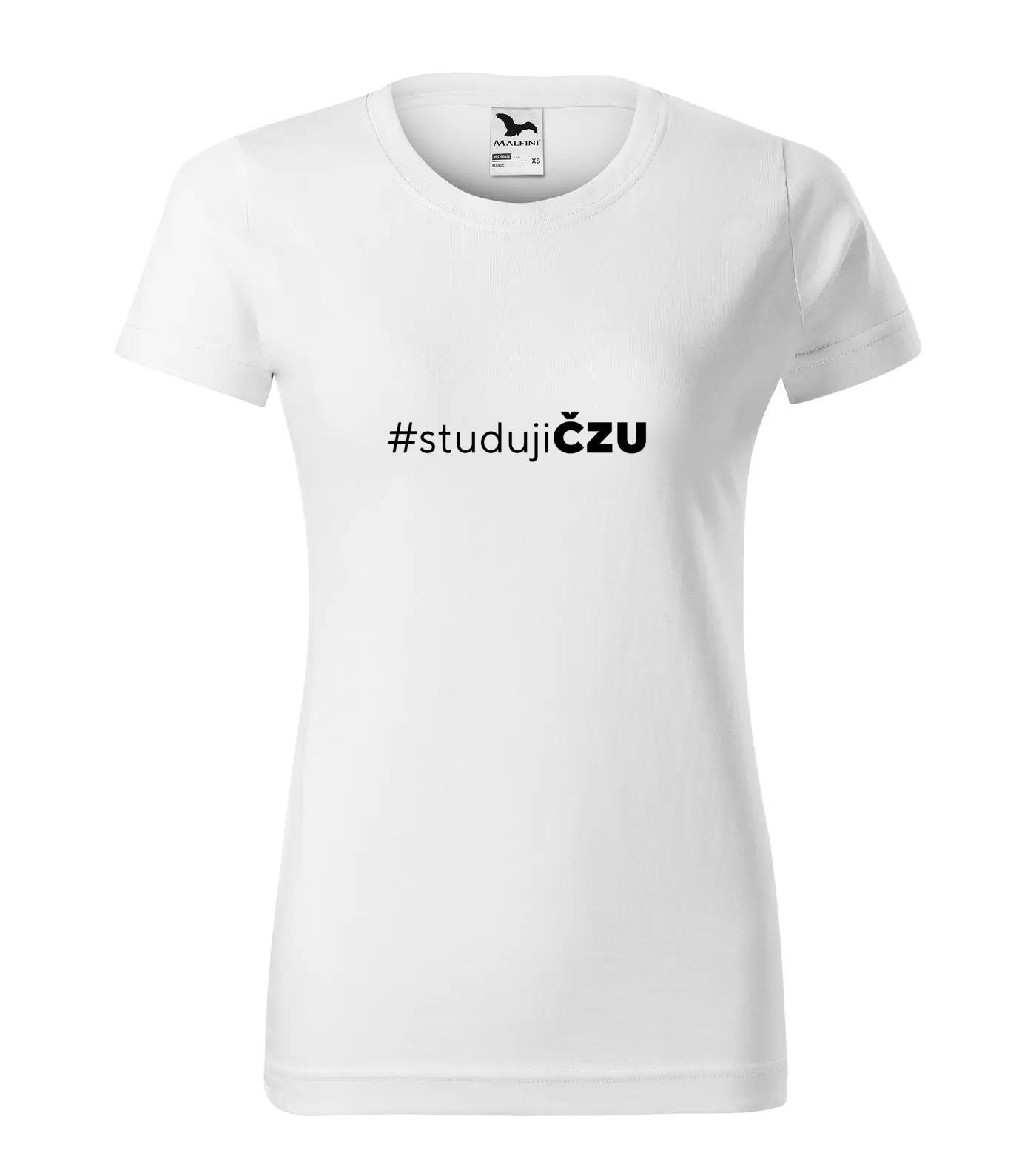 Tričko pro vysokoškoláky Studuji ČZU