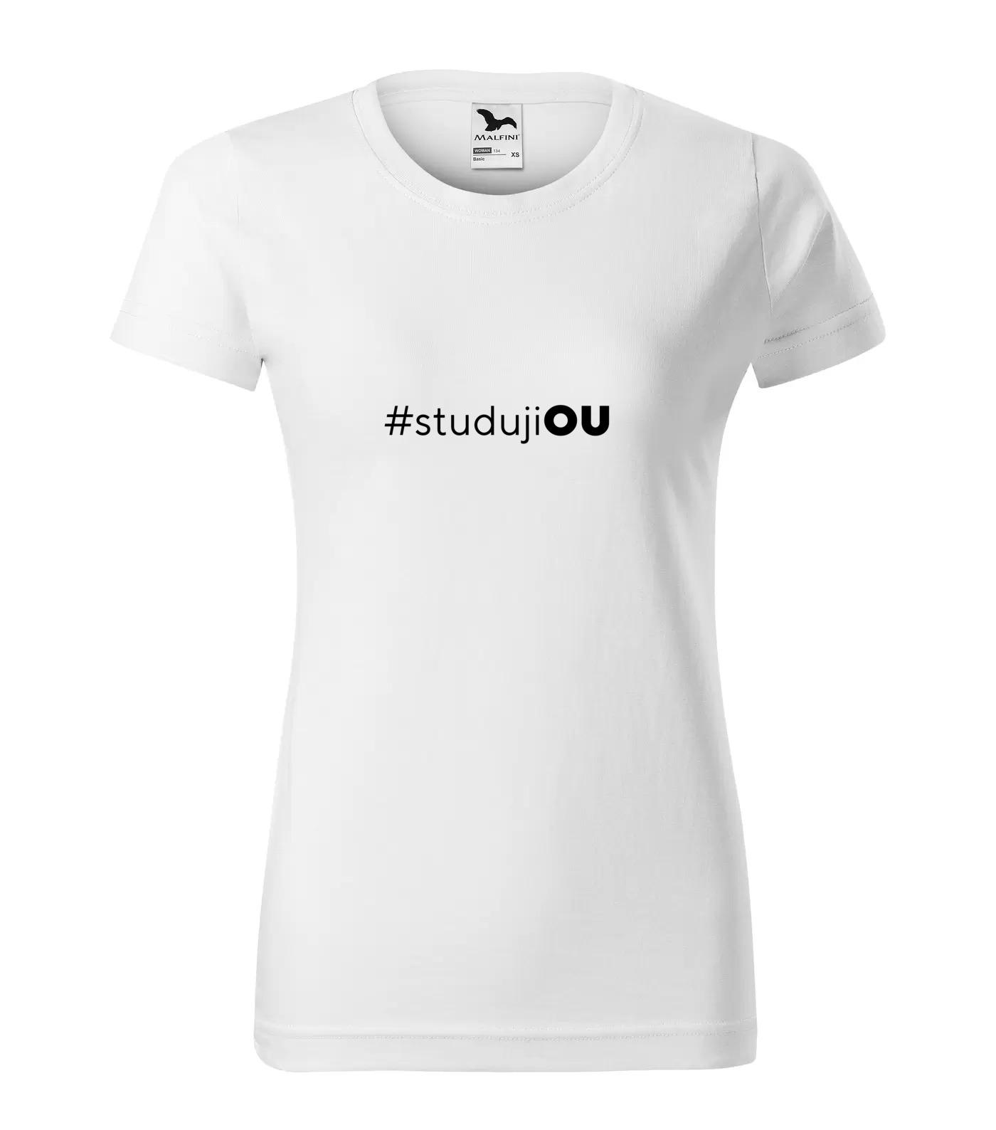 Tričko pro vysokoškoláky Studuji OU