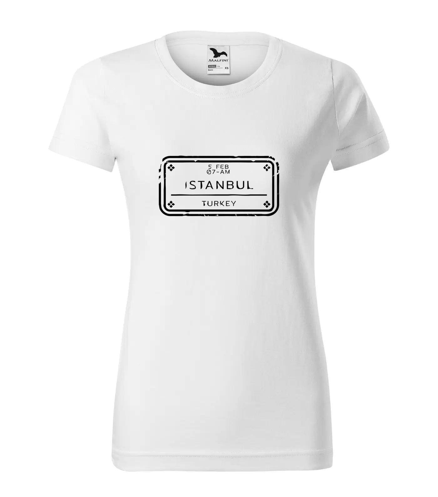 Tričko Istanbul